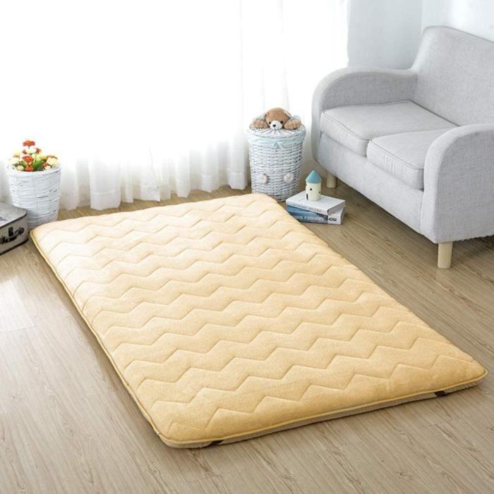 FUTON jhgsdh Tapis de Sol en Tatami de Couchage, Matelas Japonais de futon de Sol Matelas Pliable Portable de Camping Coussin de152