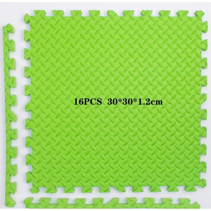 Tapis de sol,Tapis de sol de gymnastique en mousse EVA pour bébé, 12 pièces, Puzzle, exercice, jeu, carreaux - Type 16PCS -C