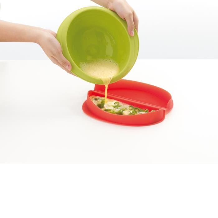 WPRO LOM100 Cuit Omelette rouge