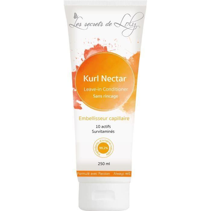 LES SECRETS DE LOLY Après-shampoing sans rinçage Kurl Nectar - 250 ml