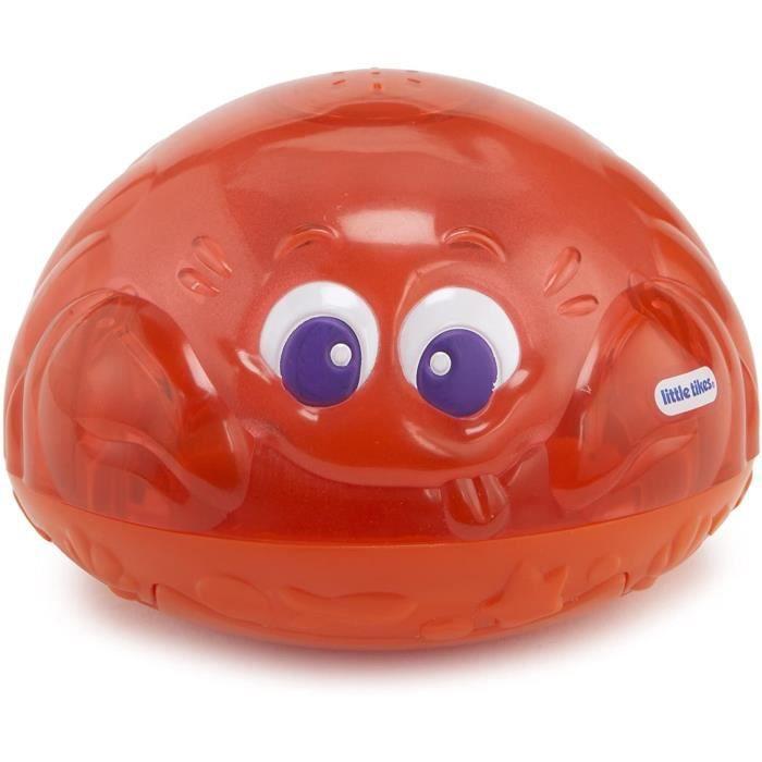 Jouet de bain Little Tikes 173875GR Crabe Fontaine Rouge