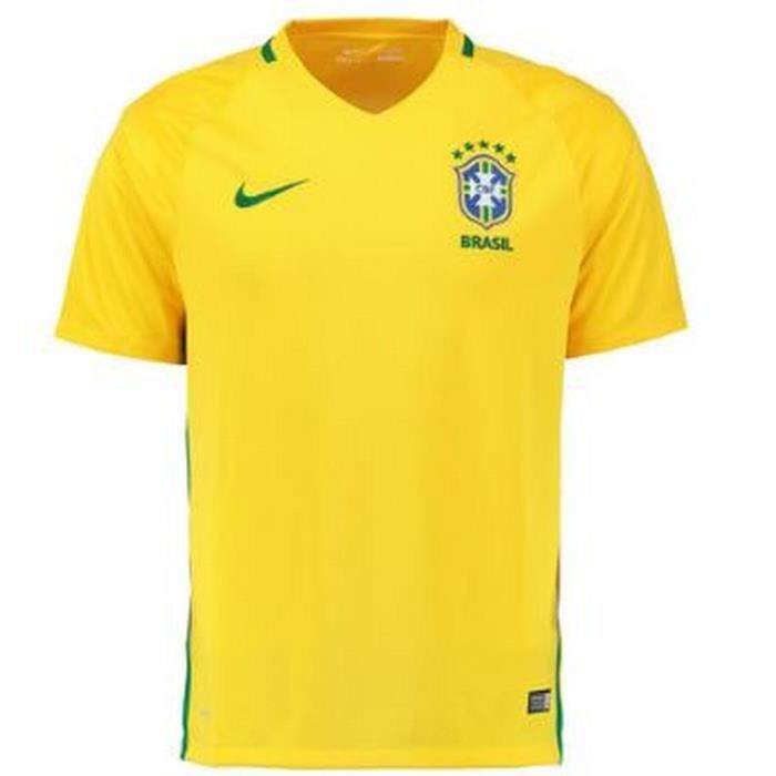 Maillot Officiel Homme Nike Brésil home 2016