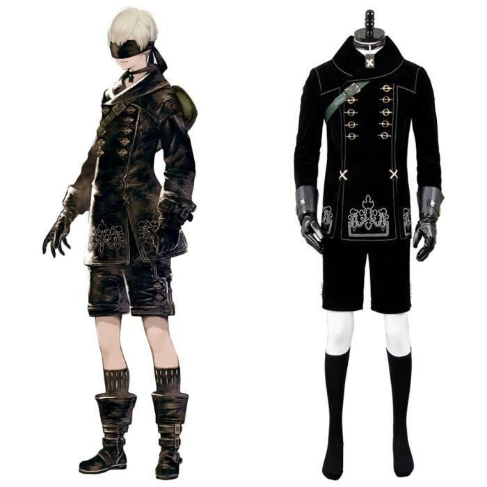 NieR:Automata 9S YoRHa No. 9 Type S Scanner Cosplay Costume