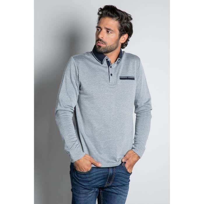 DEELUXE Polo à manches longues KLONE Navy