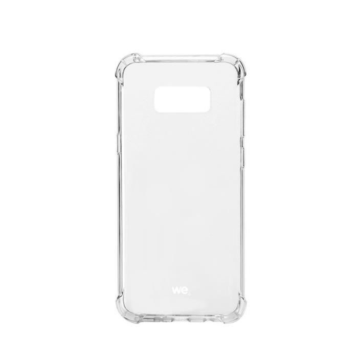 Coque antichoc pour Galaxy S8 Transparent