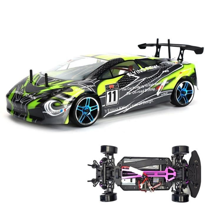 hsp 4wd 1 10 chelle lectrique rc drift voiture 94123 ready to run voiture t l command e. Black Bedroom Furniture Sets. Home Design Ideas