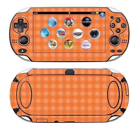 skin stickers pour sony ps vita sticker orange shepherd achat vente sticker skin. Black Bedroom Furniture Sets. Home Design Ideas