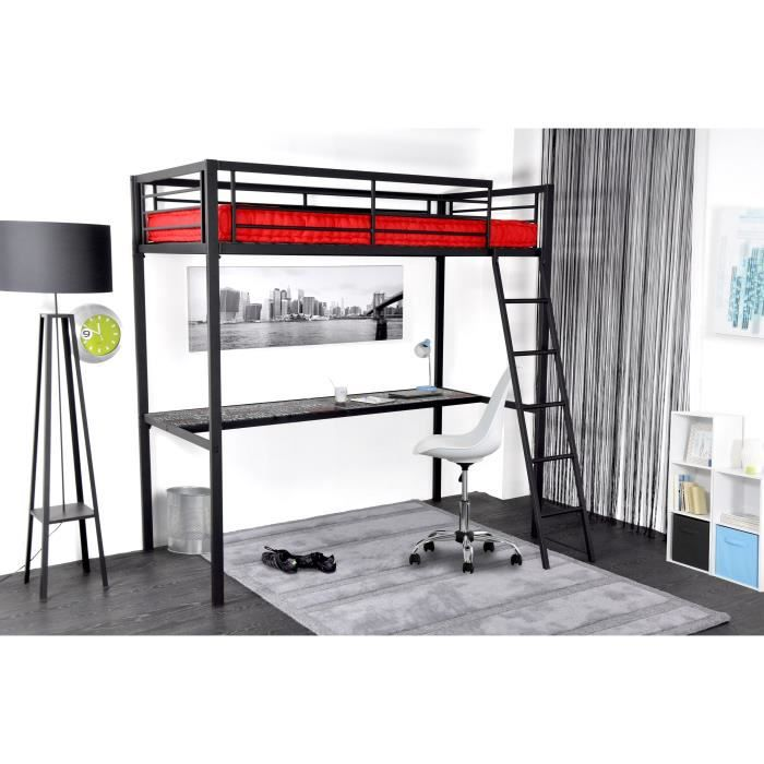 mezzanine la redoute awesome idea for loft bed diy with. Black Bedroom Furniture Sets. Home Design Ideas
