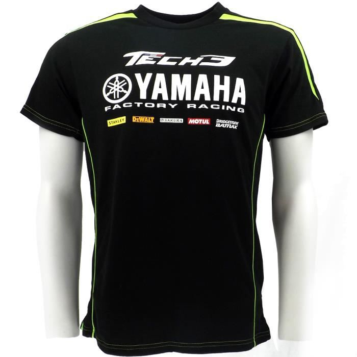 tech3 monster yamaha moto gp team t shirt personnalis officiel 2015 achat vente blouson. Black Bedroom Furniture Sets. Home Design Ideas