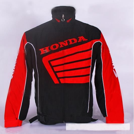 honda hiver homme m le veste de moto f1 voiture logo suzuki coton veste paisse manteau black. Black Bedroom Furniture Sets. Home Design Ideas