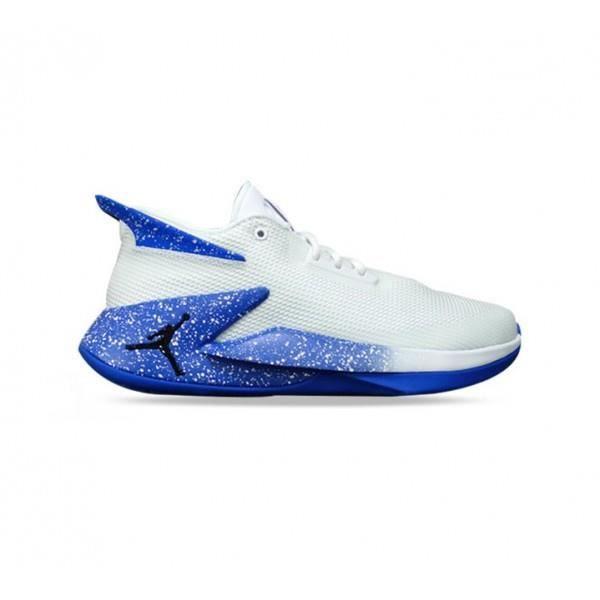 Chaussure de Basketball Jordan Fly Lockdown Blanc Royal pour ...