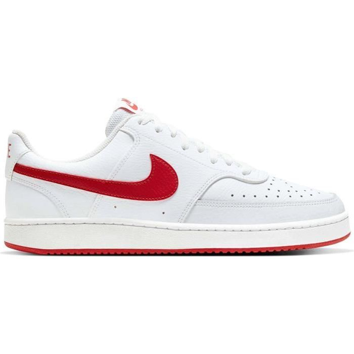 Nike air force 1 rouge - Cdiscount