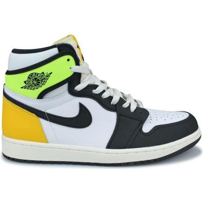 Basket Air Jordan 1 Retro High Og Blanc 555088-118