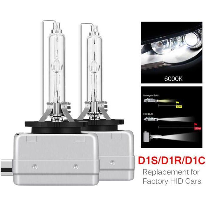 / 1/Yr Garantie Lot De Deux Ampoules D1S HID Lampe De Voiture X/énon Ampoules De Rechange 35/W 5000/K Haute Et Basse Faisceau SHFY Kits De Conversion T/ête Lights