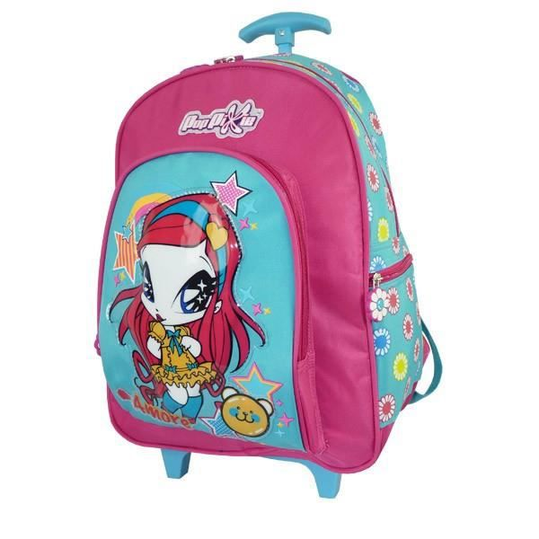 bagages cartable a roulettes poppixie winx club  cm trol f pop