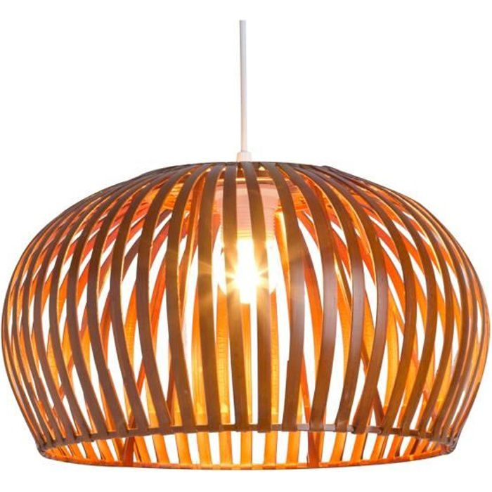 LUSTRE ET SUSPENSION Suspension FLORAL Bambou - Naturel