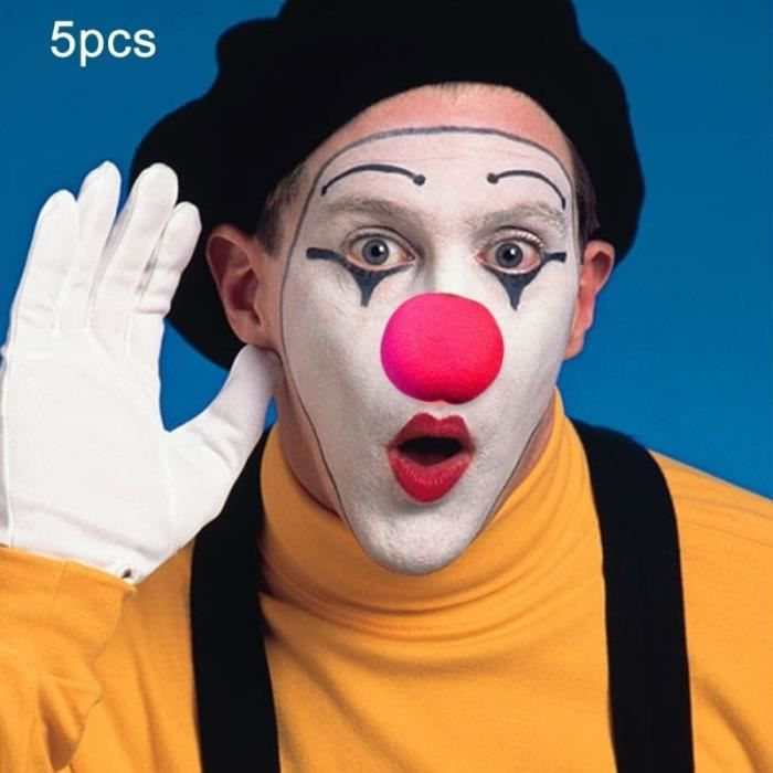 Rouge Éponge Nez De Clown Enfants Adulte Costume Déguisement Costume Cirque