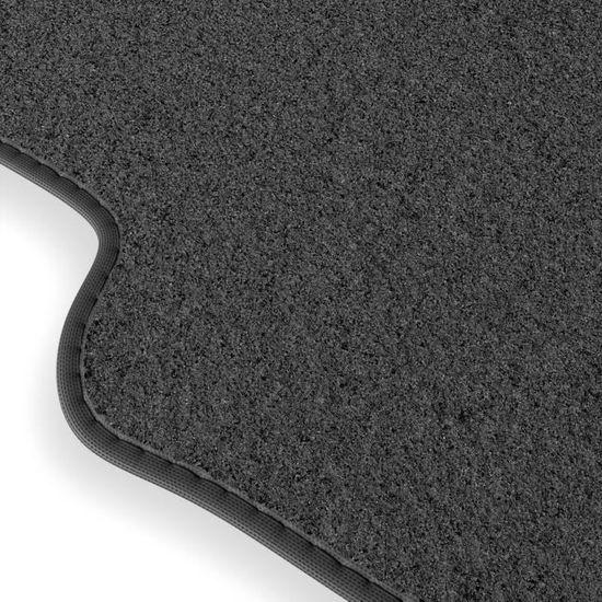 Suzuki ignis 2000-2008 sur mesure voiture tapis de sol moquette noir mat rose bordure