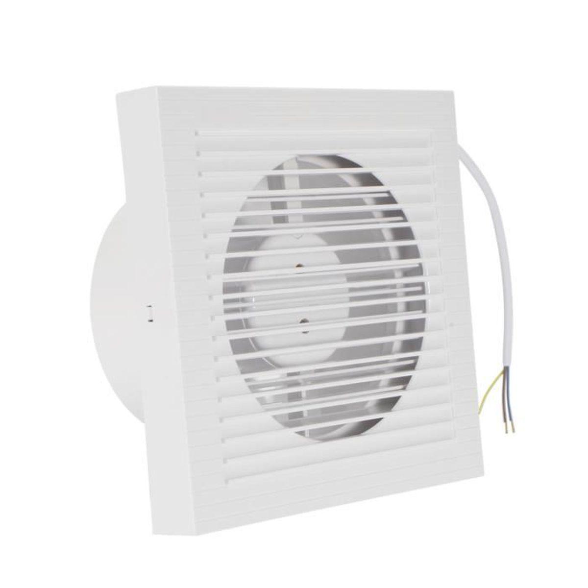Ventilateur plafond salle de bains