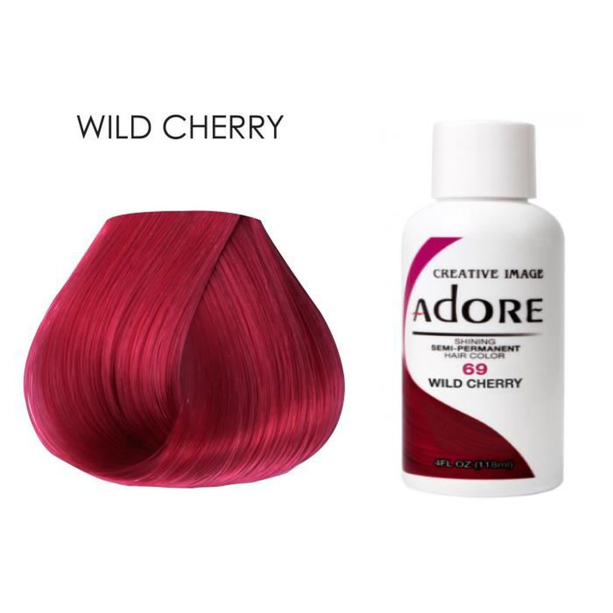 Adore Wild Cherry Hair Color Image Of Hair Salon And Hair Color