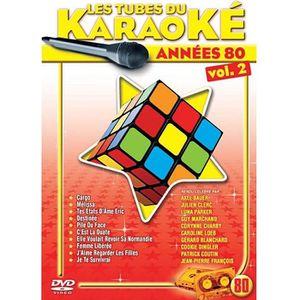 DVD MUSICAL LES TUBES DU KARAOKE ANNEES 80, VOL. 02