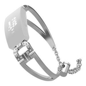 BRACELET DE MONTRE Luxe D Mot Métal Cristal Bracelet Bracelet Pour Fi