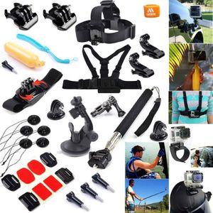 PACK ACCESSOIRES PHOTO 27 en 1 kit d'accessoires pour GoPro Hero 1233+4