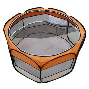 PARC Enclos pour petit animaux orange parc pour chien c