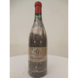 VIN ROUGE bourgueil savour club rouge 1972 - loire - tourain