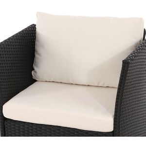coussin assise salon de jardin achat vente coussin. Black Bedroom Furniture Sets. Home Design Ideas