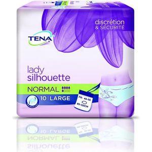 PROTÈGE SLIP Culottes pour fuites urinaires TENA Lady Silhouett