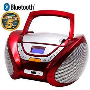 RADIO CD CASSETTE Lauson CP449 Lecteur CD Boombox Bluetooth, Radio P