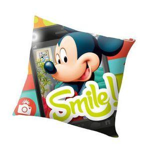 Mickey Mouse pour Enfants Coussin de Cou Oreiller de Voyage Disney Oreiller Cervical Voiture Oreiller de Voyage Vacances