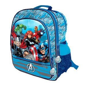 CARTABLE AVENGERS - Grand cartable 41cm 4 zips I'M AN