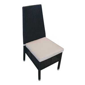 Chaise en osier polypro dream garden achat vente for Chaise osier tresse