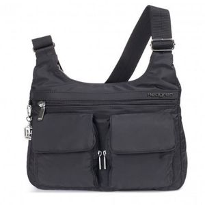 BESACE - SAC REPORTER Sac bandoulière multi-poches Hedgren Prarie Noir