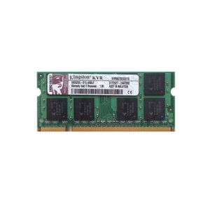 MÉMOIRE RAM RAM PC Portable SODIMM Kingston KVR667D2S5/1G DDR2