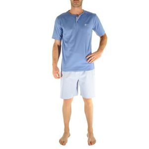PYJAMA Pyjama court grande taille Nicolas Christian Cane