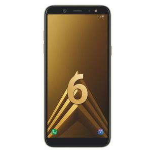 SMARTPHONE Samsung Galaxy A6 Or