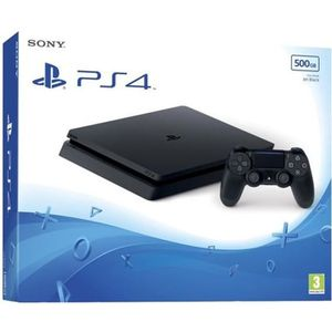 CONSOLE PS4 PLAYSTATION 4 SONY  500 GB NOIR
