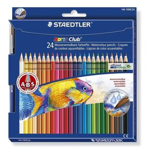bois ce ... norme CE EN71 Staedtler crayon de couleur aquarellable Noris Club
