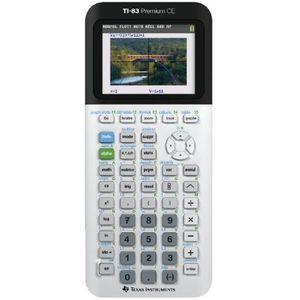 CALCULATRICE TEXAS INSTRUMENTS TI83 Premium CE Calculatrice Gra