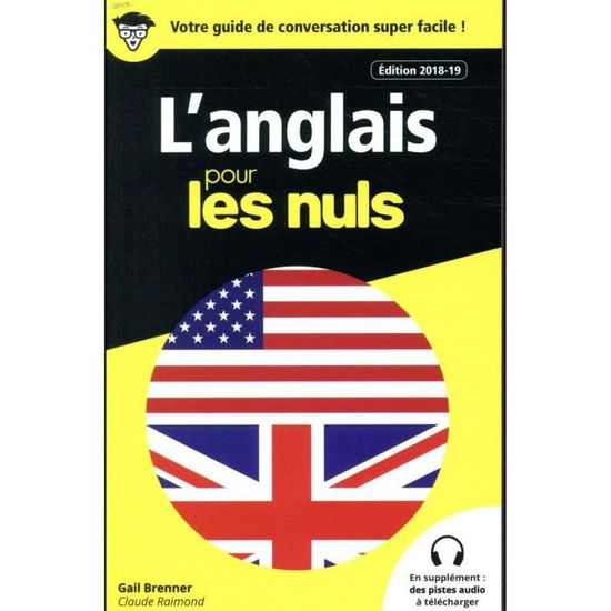 Livre L Anglais Pour Les Nuls Edition 2018 2019