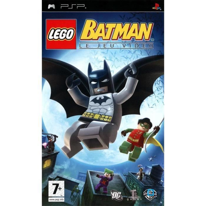 lego batman jeu console psp achat vente jeu psp lego batman psp cdiscount. Black Bedroom Furniture Sets. Home Design Ideas