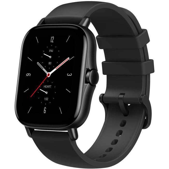Amazfit GTS 2 Montre Connectée Homme Smartwatch Montre de Sport Trackers d'activité 5 ATM Etanche Montre Intelligente Noir