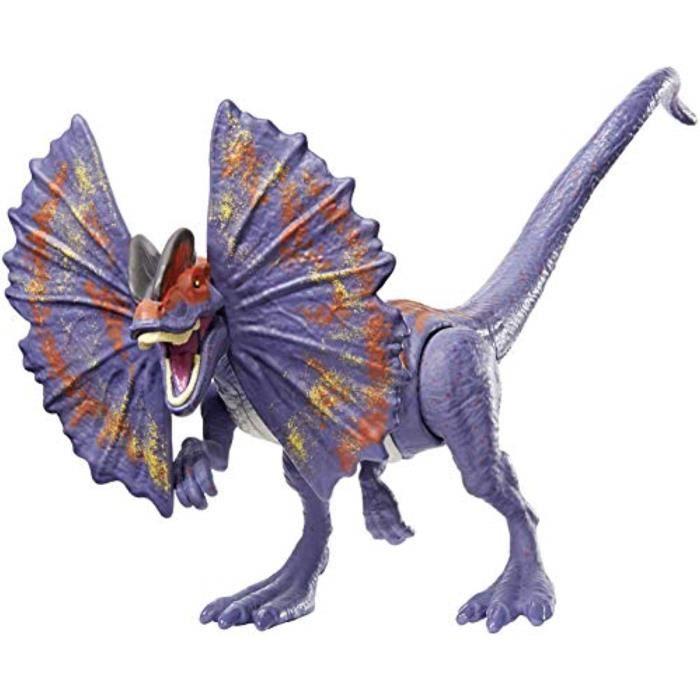 Figurine Miniature S0YC1 Jurassic monde sauvage Grève Dilophosaurus