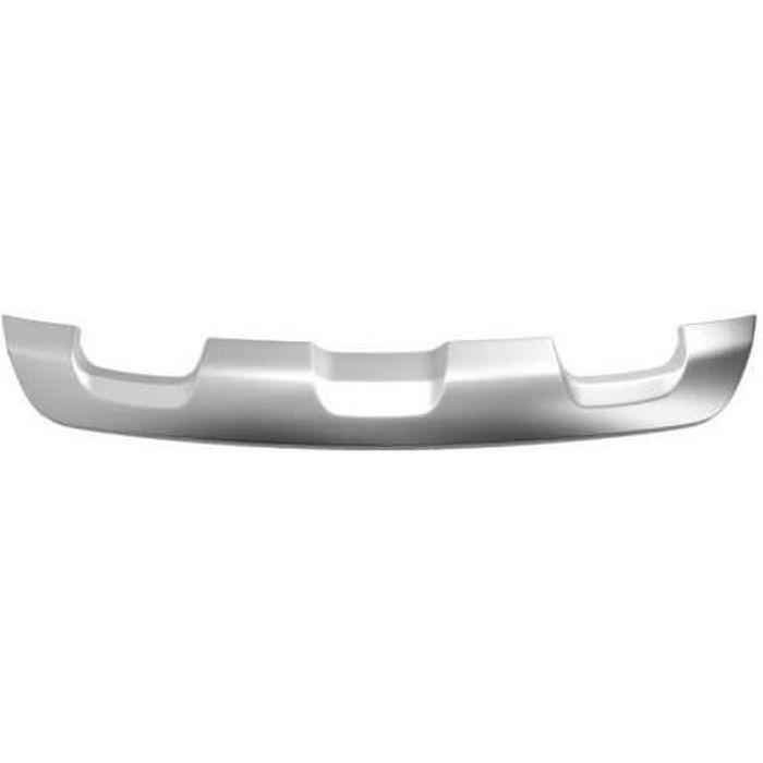 Spoiler de pare-choc arrière gris argent Dacia Sandero Stepway 2 2012-2016 RA05600