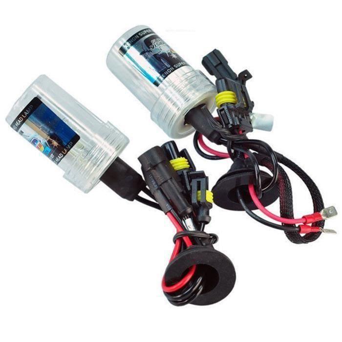 55W H7 Xenon KIT LED Fog Tail double tour 55W de l'ampoule DRL Head Lampe HID & 10000K