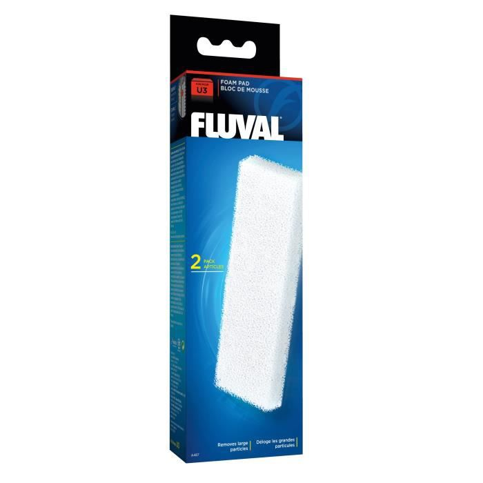 FLUVAL 2 blocs de mousses A475 - Pour aquarium