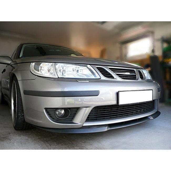 Pour Saab 9-3 Spoiler Lèvre Lame Inférieure Pare-Choc Avant Noir Mat 1998-2012